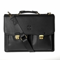 Hero Briefcase Eisenhower Series 275bla Better Than Leather