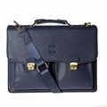 Hero Briefcase Eisenhower Series 275blu Better Than Leather