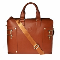 Hero Briefcase Roosevelt Series 900brn Better Than Leather