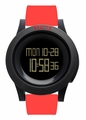 REACT! RA3033 LED Sport Unisex Red Silicone Band Mens Watch