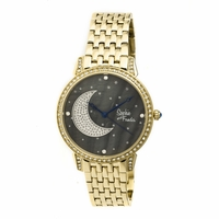 Sophie And Freda Sf2402 Moon And Stars Ladies Watch