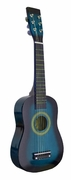 23 Inch Blue  Acoustic Toy Guitar for Kids - & DirectlyCheap(TM) Translucent Blue Medium Guitar Pick - Click to enlarge