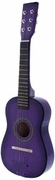 Purple Acoustic Toy Guitar for Kids with Carrying Bag and Accessories & DirectlyCheap(TM) Translucent Blue Medium Guitar Pick  - Click to enlarge