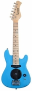30 Inch Blue Half Size Junior Kids Electric Guitar with Built in Amp - & DirectlyCheap(TM) Blue Medium Guitar Pick - Click to enlarge