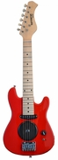 30 Inch Red Half Size Junior Kids Electric Guitar with Built in Amp - & DirectlyCheap(TM) Blue Medium Guitar Pick  - Click to enlarge