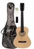 "36"" Inch 3/4 Scale Size Natural Student Beginner Acoustic Guitar with Carrying Case & Accessories & DirectlyCheap(TM) Translucent Blue Medium Guitar Pick (A-PRO Series) [Teacher Approved]"