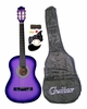 "38"" Purple Acoustic Guitar Starter Package Guitar, Gig Bag, Strap, Pick & DirectlyCheap(TM) Translucent Blue Medium Guitar Pick (PL-AG38-1)"