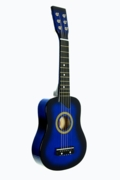 Blue Acoustic Toy Guitar for Kids with Carrying Bag and Accessories & DirectlyCheap(TM) Translucent Blue Medium Guitar Pick  - Click to enlarge