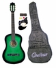 "38"" GREEN Acoustic Guitar Starters Beginner Package, Guitars, Gig Bag, Strap, Pitch Pipe Tuner, 2 Pick Guards, Extra String & DirectlyCheap� Pick (GR-AG38) [Teacher Approved]"