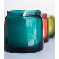 17 oz. Tinted Glass Jar Candles by Aspen Bay Candles