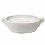 CLOSEOUT - Applewood White Crackle Medium WoodWick Candle with HearthWick Flame | Discontinued & Seasonal WoodWick Items!