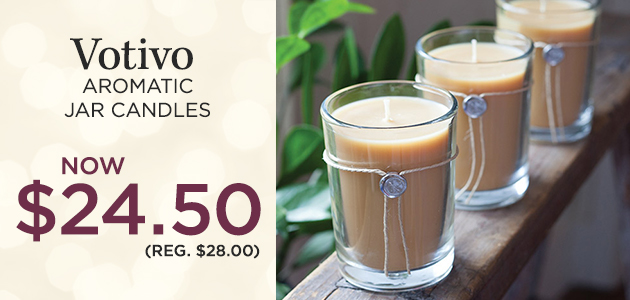 Aromatic Collection Jars Votivo Candle