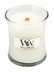 CLOSEOUT-Baby Powder WoodWick Candle 3.4 oz. | Discontinued & Seasonal WoodWick Items!