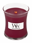 Black Cherry WoodWick Candle 3.4 oz. | WoodWick Mini Candles