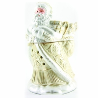 CLOSEOUT - Brushed Gold Santa Radiant Fragrance Warmer