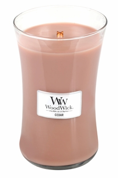_DISCONTINUED_Cedar WoodWick Candle 22 oz.