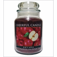 Cheerful Candle 24 oz. Jars by A Cheerful Giver