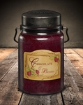 Chocolate & Berries 26 oz. McCall's Classic Jar Candle | 26 oz. McCall's Classic Jar Candles