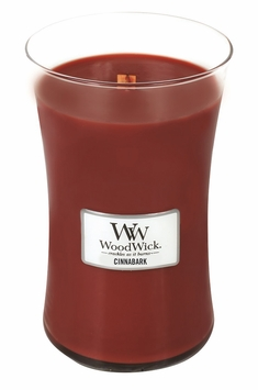 CLOSEOUT - Cinnabark WoodWick Candle 22oz.