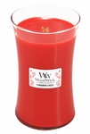Cinnamon Cheer WoodWick Candle 22 oz. | Woodwick Candles 22 oz. Large Jars