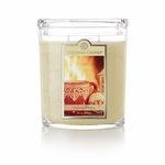 CLOSEOUT - Cozy by the Fire 22 oz. Oval Jar Colonial Candle | Colonial Candle Closeouts
