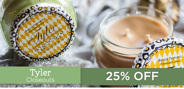 Closeouts by Tyler Candle Company