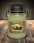 Coconut Lime Verbena 26 oz. McCall's Classic Jar Candle | 26 oz. McCall's Classic Jar Candles