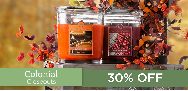 Colonial Candle Closeouts