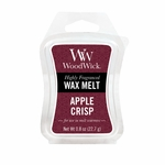 CLOSEOUT-Apple Crisp WoodWick 0.8 oz. Mini Hourglass Wax Melt | Discontinued & Seasonal WoodWick Items!