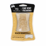 CLOSEOUT - Beach Boardwalk WoodWick Car Vent Freshener | Discontinued & Seasonal WoodWick Items!