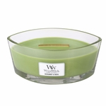 Bergamot & Basil WoodWick Candle 16 oz. HearthWick Flame | HearthWick - Woodwick Fall & Winter 2015