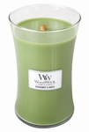 Bergamot & Basil WoodWick Candle 22 oz. | Jar Candles - Woodwick Fall & Winter 2015