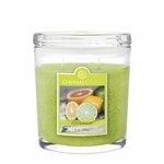 NEW! - Citrus Woods 8 oz. Oval Jar Colonial Candle | 8 oz. Oval Jar Colonial Candle