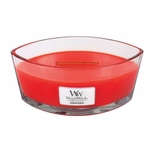 Crimson Berries WoodWick Candle 16 oz. HearthWick Flame   WoodWick Fall & Holiday 2018