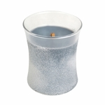 CLOSEOUT-Evening Onyx Sanded Hourglass WoodWick Candle | Discontinued & Seasonal WoodWick Items!