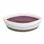 CLOSEOUT - Fig Dipped Ceramic Ellipse WoodWick Candle | Discontinued & Seasonal WoodWick Items!