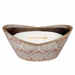 CLOSEOUT - Fireside Pearl Large WoodWick Candle with HearthWick Flame | Discontinued & Seasonal WoodWick Items!
