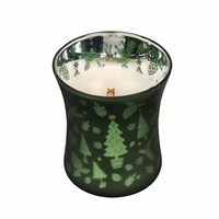 CLOSEOUT - *Frasier Fir Scenic Hourglass WoodWick Candle