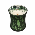 CLOSEOUT - *Frasier Fir Scenic Hourglass WoodWick Candle | Discontinued & Seasonal WoodWick Items!