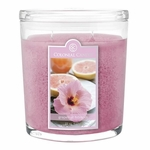Grapefruit Hibiscus 22 oz. Oval Jar Colonial Candle | 22 oz. Oval Jar Colonial Candle