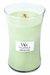 Green Tea & Lime WoodWick Candle 22 oz. | Jar Candles - Woodwick Fall & Winter 2015