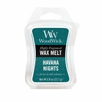 CLOSEOUT-Havana Nights WoodWick 0.8 oz. Mini Hourglass Wax Melt | Discontinued & Seasonal WoodWick Items!
