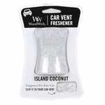 Island Coconut WoodWick Car Vent Freshener | Car Vent Fresheners - Woodwick Fall & Winter 2015