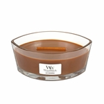 CLOSEOUT-Jolly Gingerbread WoodWick Candle 16 oz. HearthWick Flame | Discontinued & Seasonal WoodWick Items!