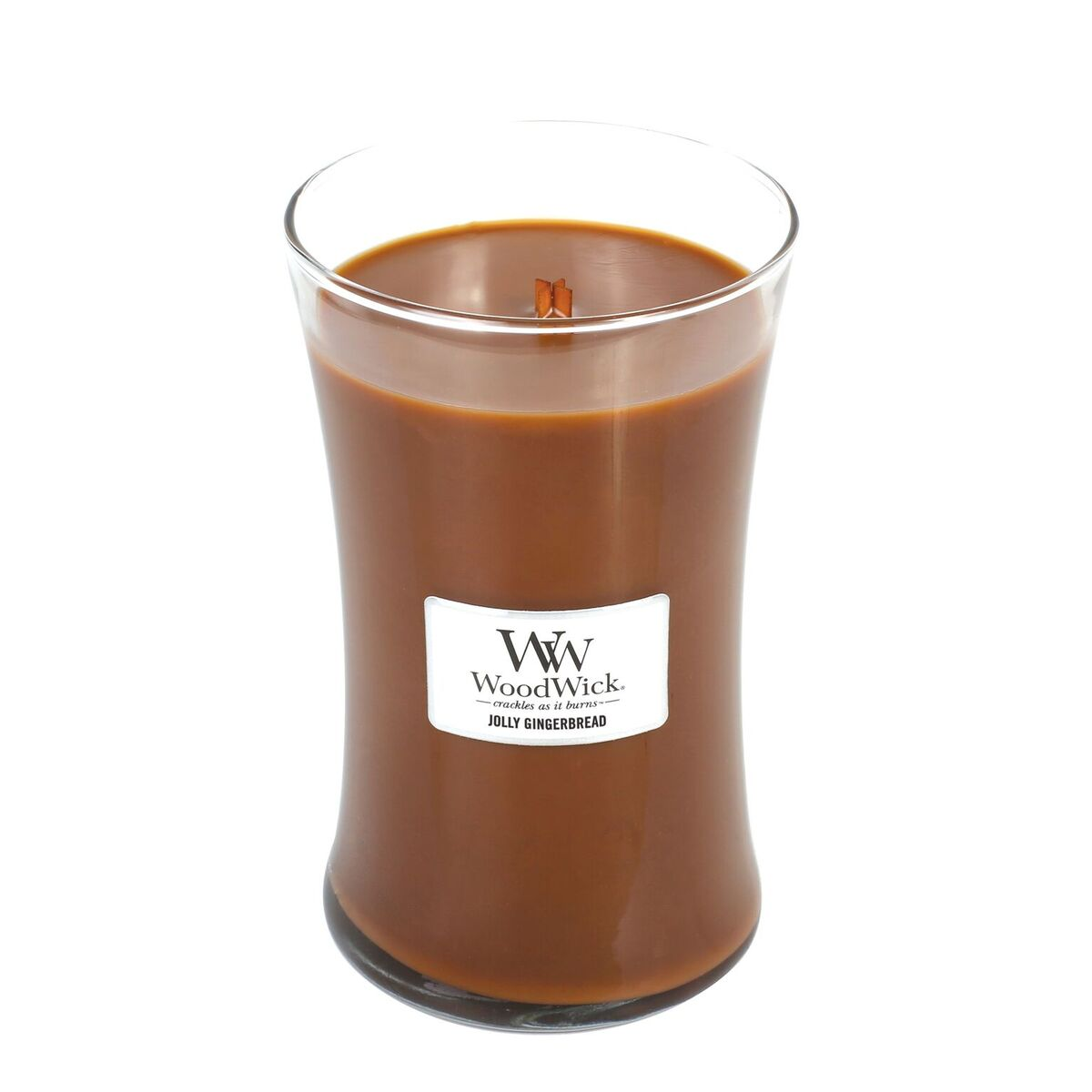 Discontinued Jolly Gingerbread Woodwick Candle 22 Oz