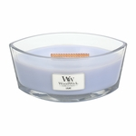 Lilac WoodWick Candle 16 oz. HearthWick Flame | HearthWick Ellipse Glass Candles