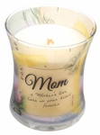 CLOSEOUT - Mom Linen Inspirational Collection Hourglass WoodWick Candle | Discontinued & Seasonal WoodWick Items!