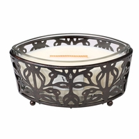 CLOSEOUT-Nouveau Base for 16 oz. Ellipse Glass HearthWick Candle