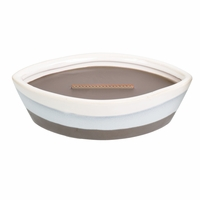 NEW! - Oudwood Dipped Ceramic Ellipse WoodWick Candle