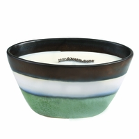 CLOSEOUT - Pacific Driftwood Elliptical RibbonWick Candle
